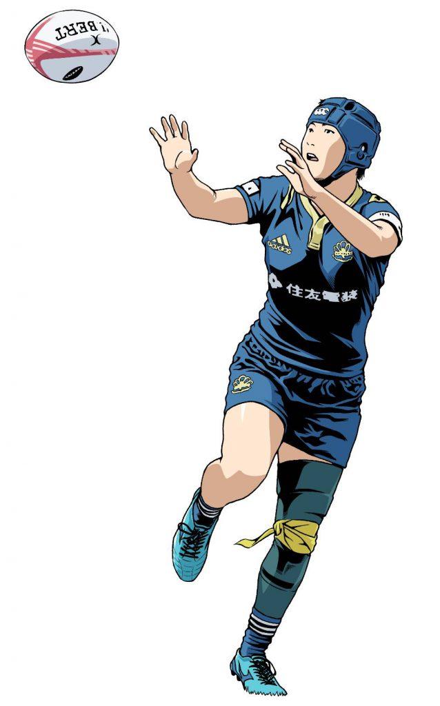 MIE PEARLS 山本実選手(資料写真/ラグビーずきのせんしさん)