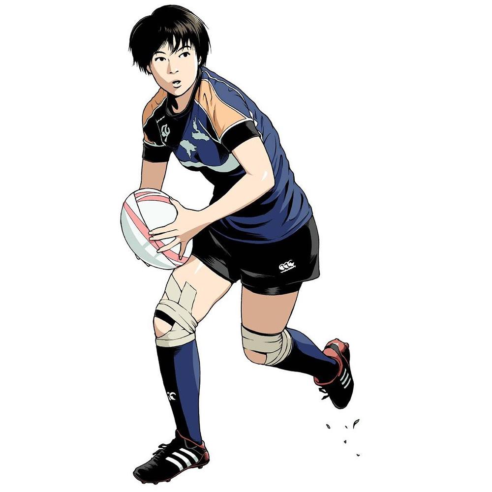 福島わさなさん 東京山九フェニックス時代(資料写真/高木哲也さん)