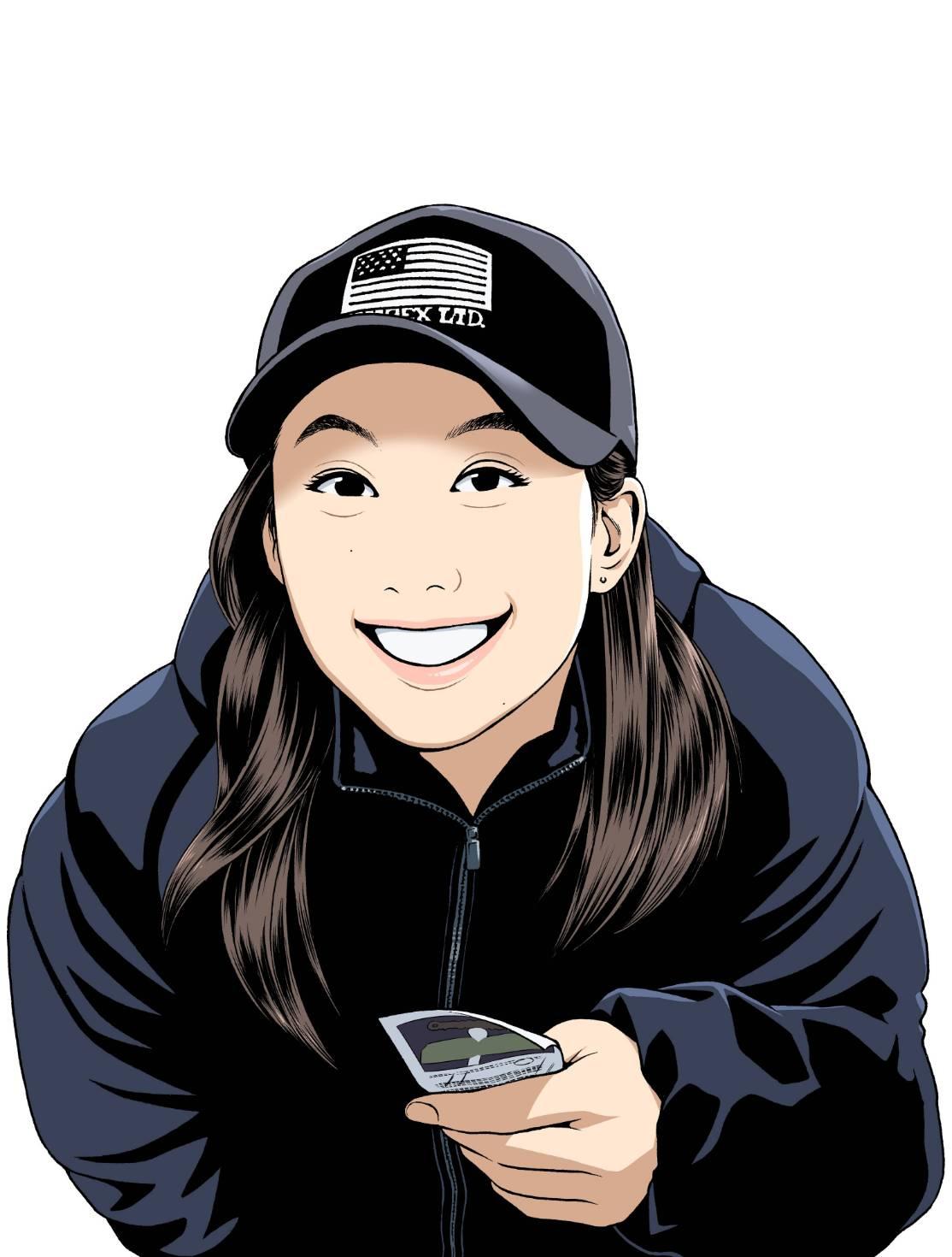日本体育大学ラグビー部女子(OG 大学院2年) 清水麻有選手